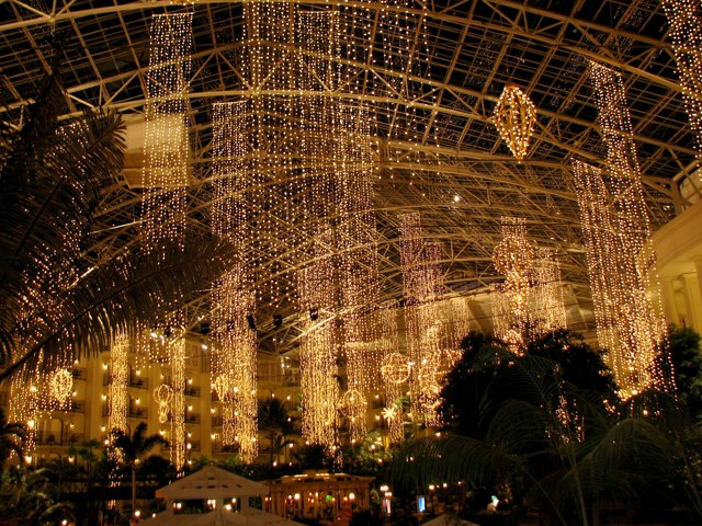 Christmas at Gaylord Opryland Hotel Nashville