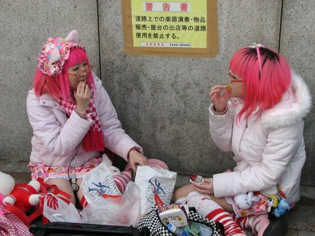 In pictures: Harajuku style, Tokyo Global Grasshopper