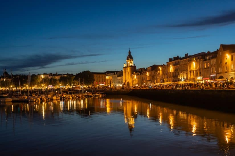 La Rochelle town France