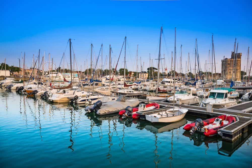 La Rochelle port France