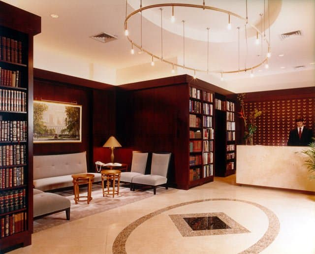 hotel lobby. The Library Hotel – A hotel