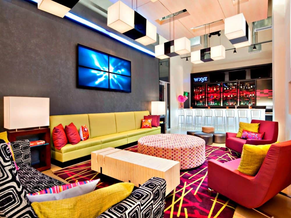 A cool and colorful pet-friendly design hotel