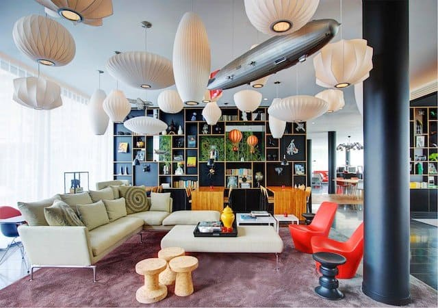 CitizenM New York - cool and unusual hotels in New York