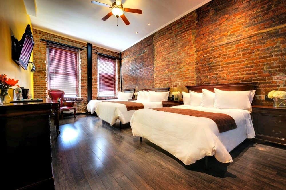 Trendy budget boutique hotel in New York