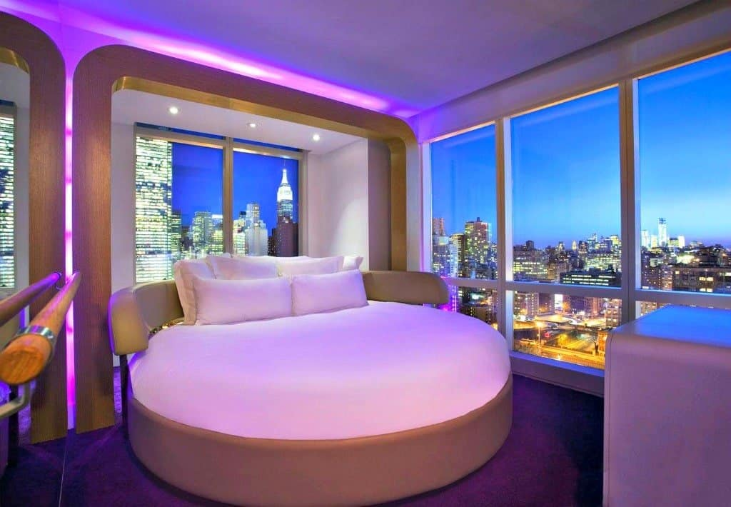 Unique hotel in New York