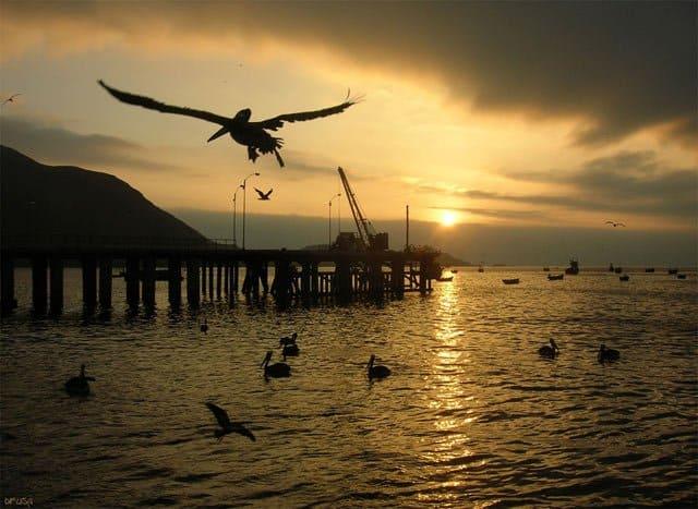 Sunset in Antofagasta, Chile on GlobalGrasshopper.com