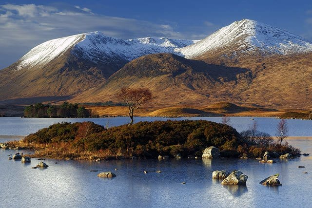 Lochan na h-Achlaise, Scottish Highlands on GlobalGrasshopper.com