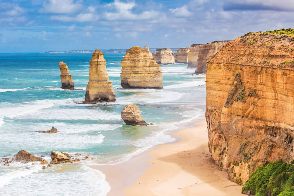 Great Ocean Road, Melbourne - beautiful places in Australia
