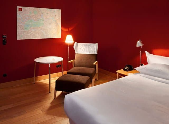 top 10 cool and unusual hotels in berlin. Black Bedroom Furniture Sets. Home Design Ideas