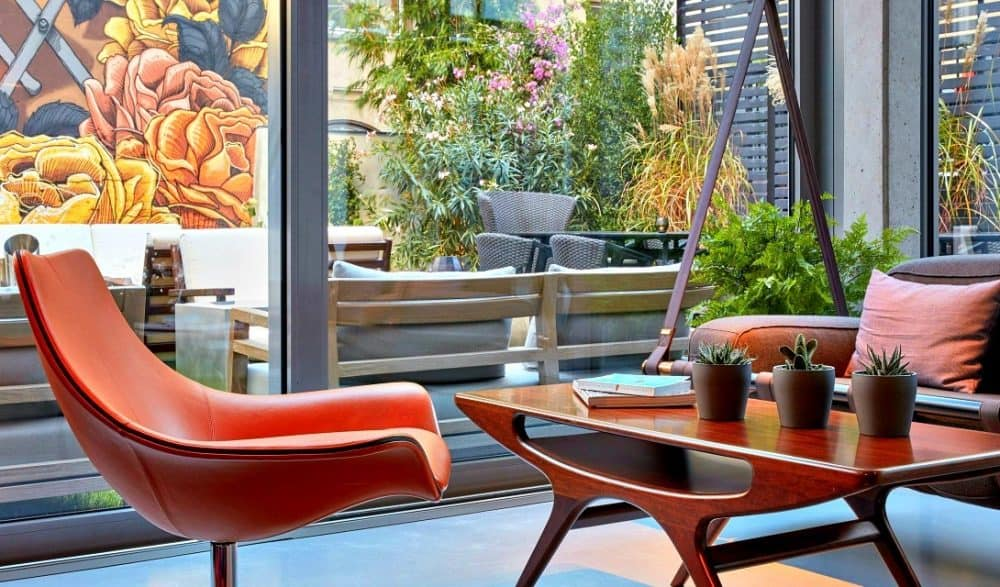 A chic boutique hotel in Berlin