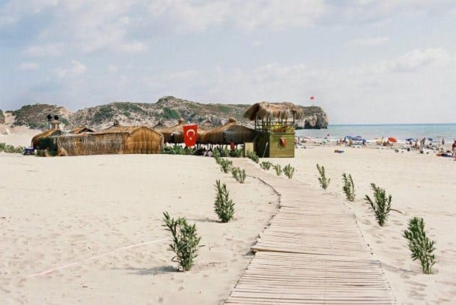 Patara beach - best beaches in Turkey on GlobalGrasshopper.com