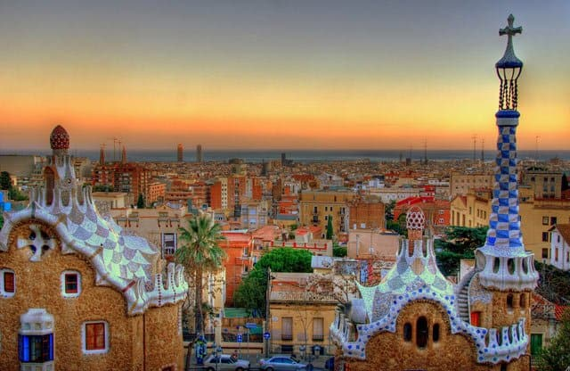 Park Guell, Barcelona on GlobalGrasshopper.com