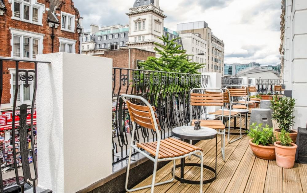 A trendy boutique hotel in London