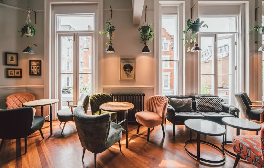 A hip boutique hotel in London