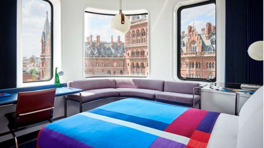 The Standard Hotel - a hip London hotel with views