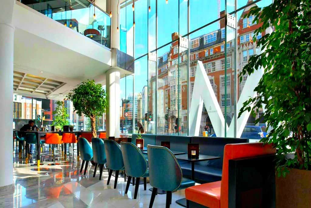 M by Montcalm Tech City - a hip modern hotel with tech and gadgets galore