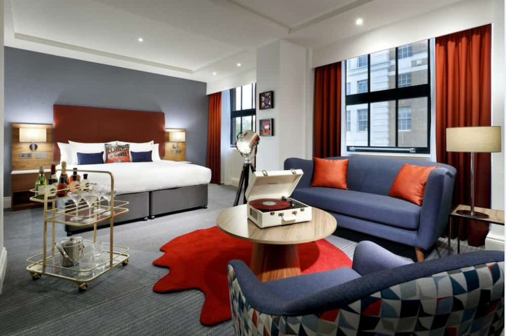Hard Rock Hotel - a cool music themed hotel in London