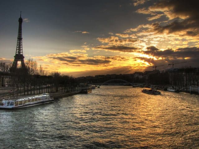 River Seine, Paris on GlobalGrasshopper.com