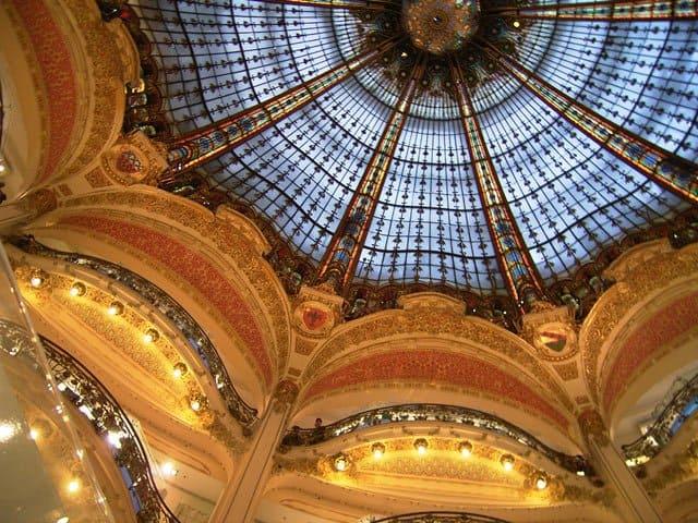 Galeries Lafayette, Paris on GlobalGrasshopper.com