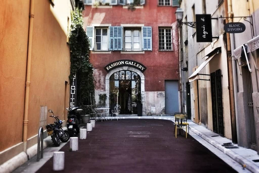 Fashion boutique in Nice
