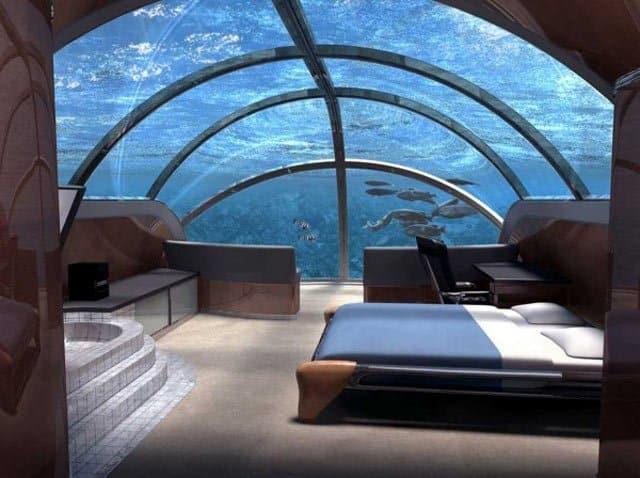 Unique Hotel, Poseidon Undersea Resort, Poseidon Mystery Island, Fiji on GlobalGrasshopper.com