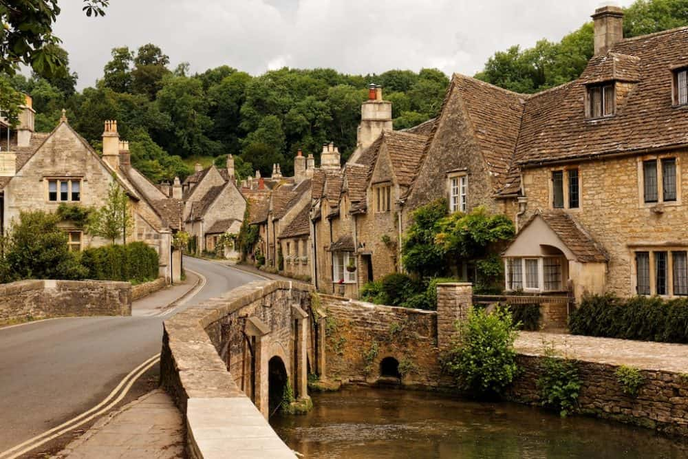 Castle combe - best places to visit in Wiltshire