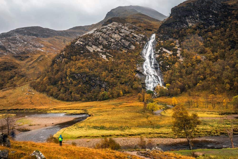 Glen Coe - place to visit in UK autumn