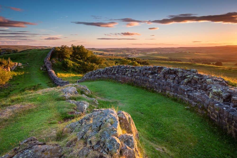 Hadrian's Wall - the awe-inspiring World Heritage Site