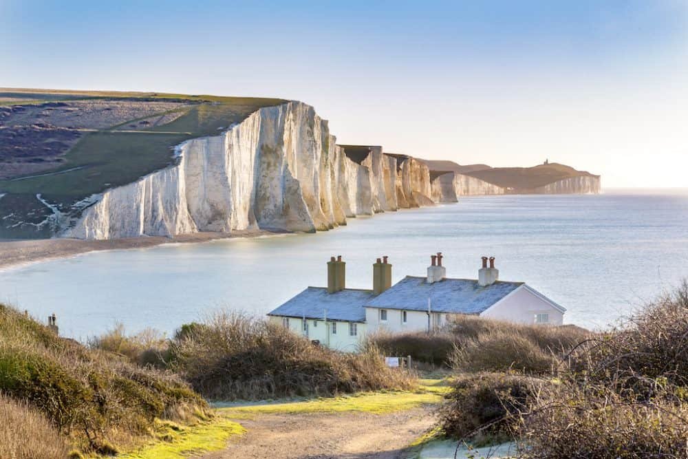 South Downs and Cuckmere Valley