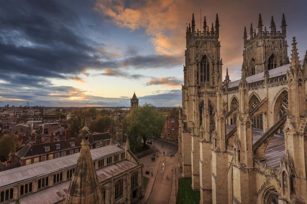 York minster - places to visit in the UK in autumn