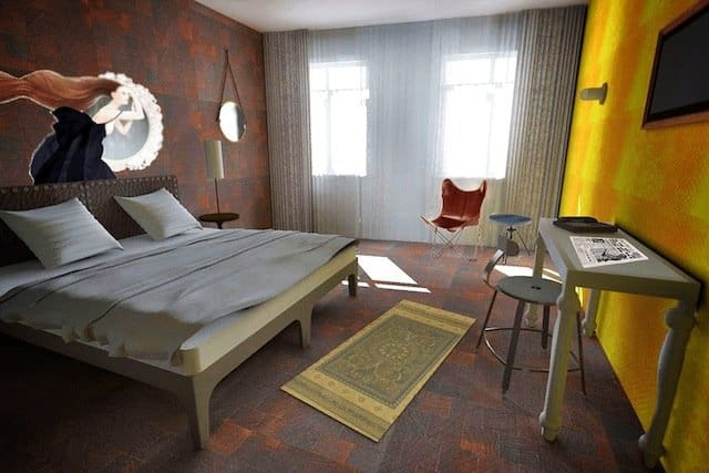 Hotel V Nesplein - cool and unusual hotels in Amsterdam