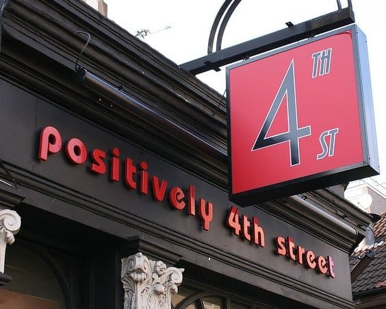 Positively 4th Street in London