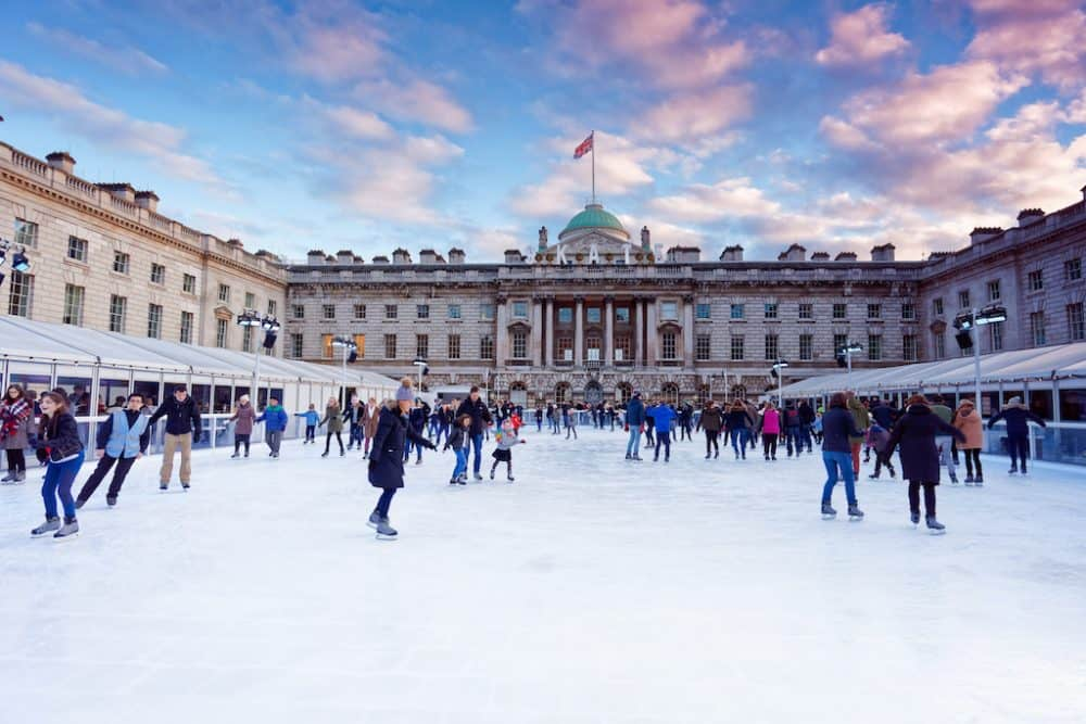best outdoor ice rinks in the world