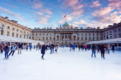 Top 10 of the most beautiful outdoor ice rinks in Europe