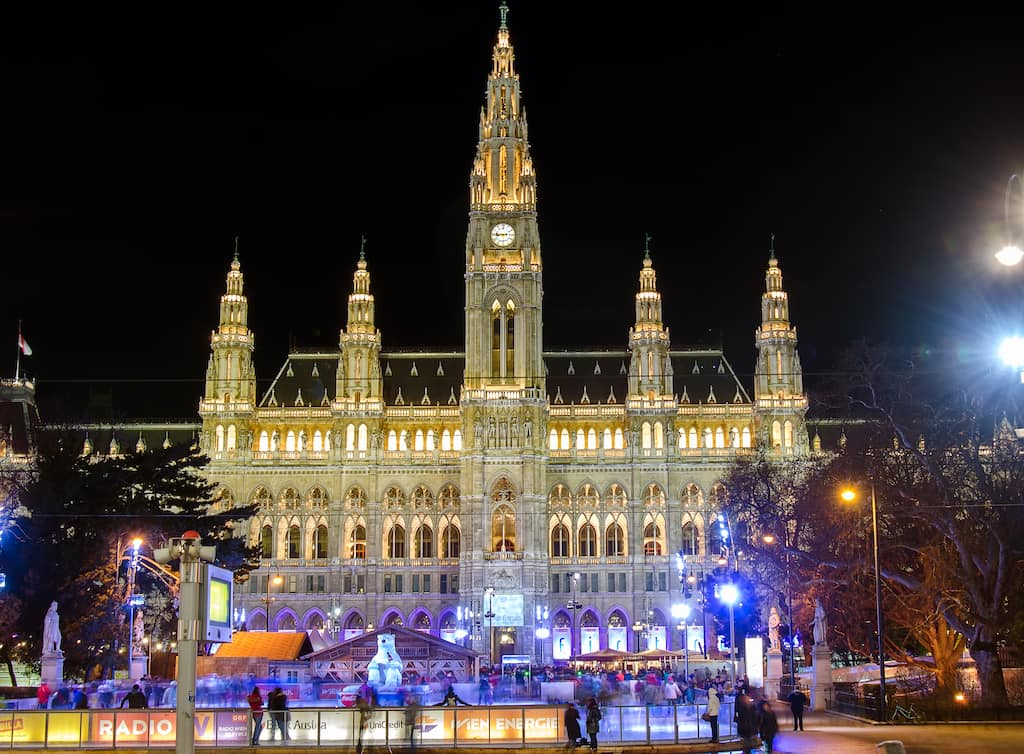 Vienna ice skating