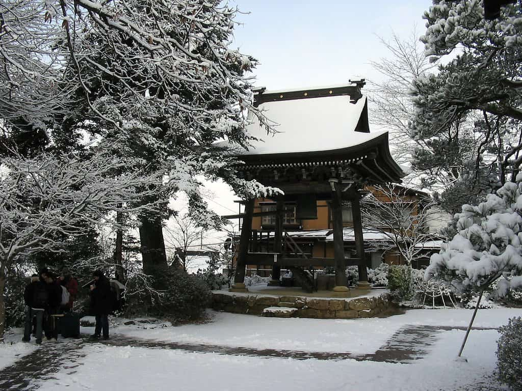 Christmas in Takayama, Japan on GlobalGrasshopper.com