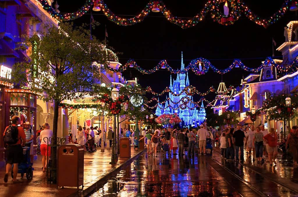 Christmas at Disney World, Florida, USA on GlobalGrasshopper.com