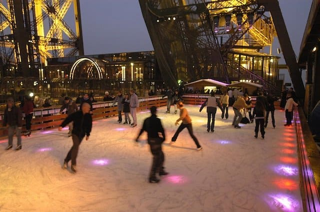 Tour Eiffel Ice Rink on GlobalGrasshopper.com