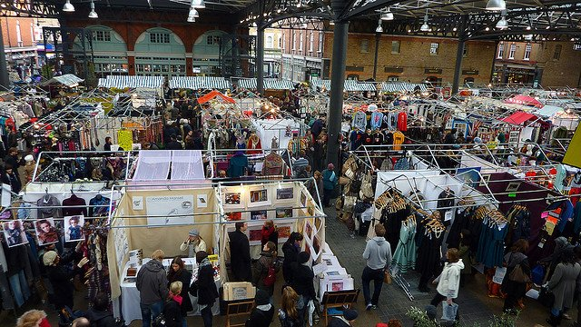 Spitalfields Market, London on GlobalGrasshopper.com