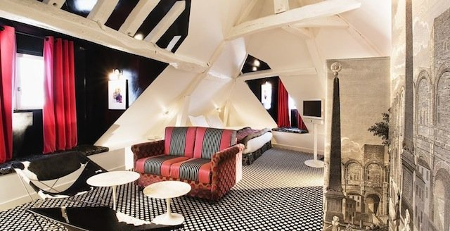 Hotel Du Petit Moulin - Cool hotels in Paris on GlobalGrasshopper.com