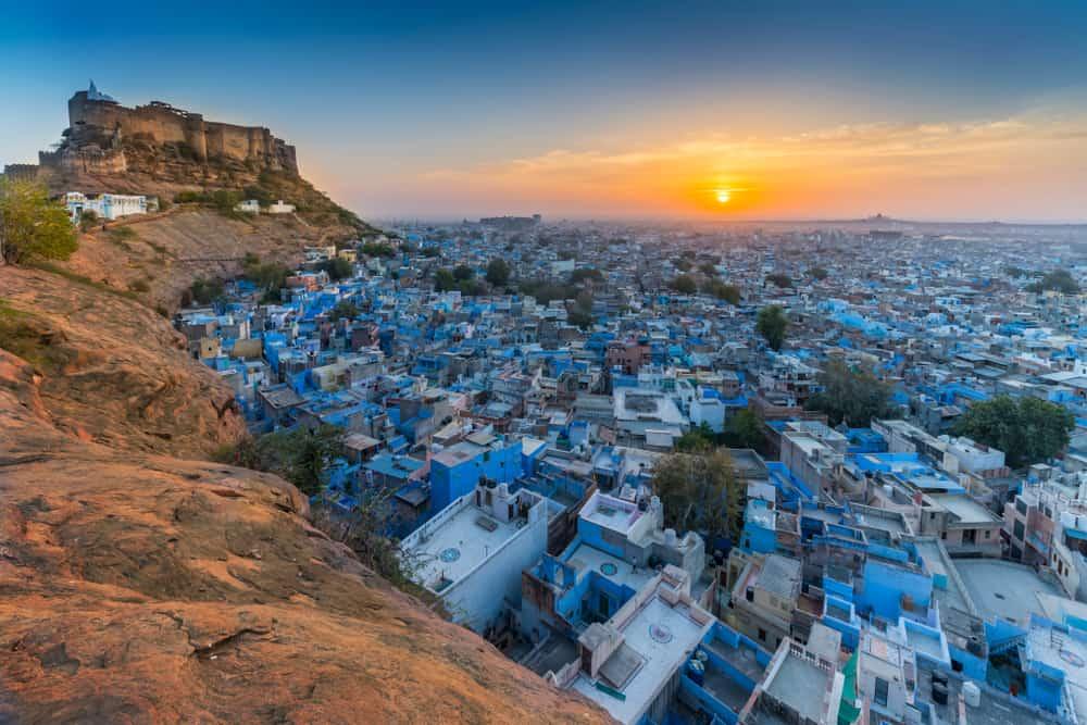 Jodhpur in Rajasthan, India