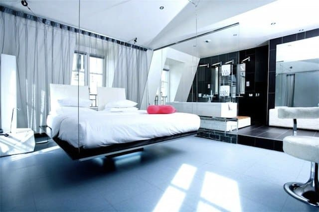 top 10 cool and unusual hotels in paris travel inspiration for the road less travelled. Black Bedroom Furniture Sets. Home Design Ideas