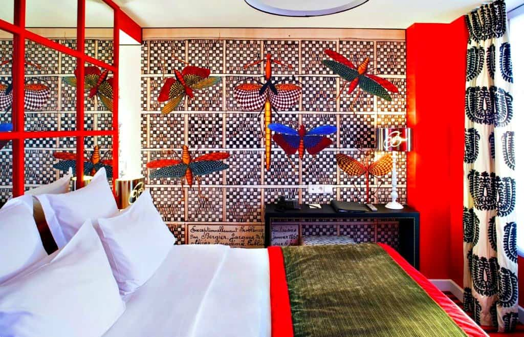 Top 10 cool and unusual hotels in paris boutique travel blog for Top design hotels paris
