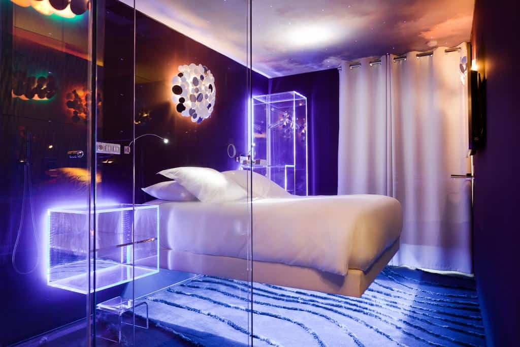 Top 10 cool and unusual hotels in paris boutique travel blog for Top design hotels in paris