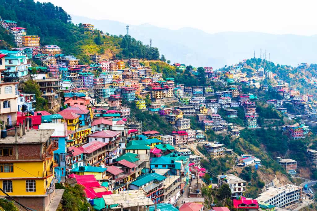 Shimla India - best places to visit in India