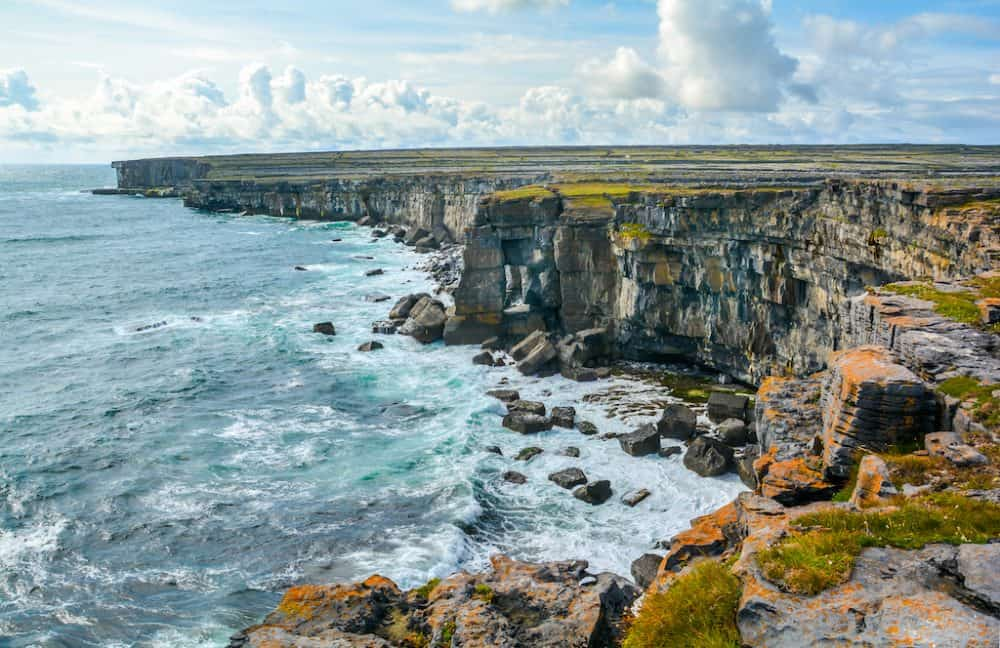Aran Islands in Ireland - beautiful places to go in Ireland