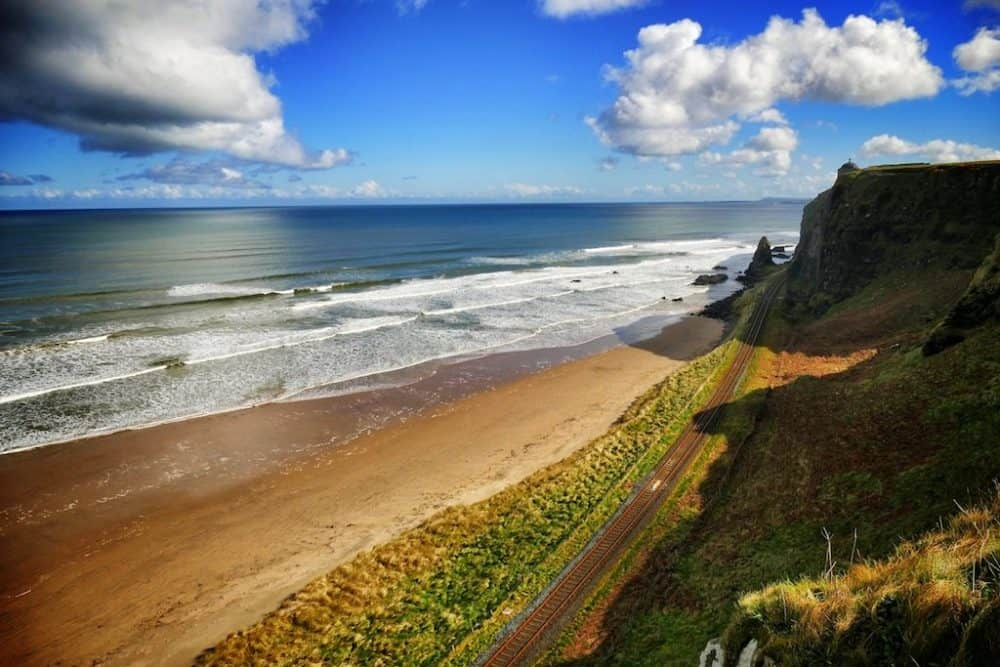 Ballycastle Ireland - a scenic Game of Thrones location