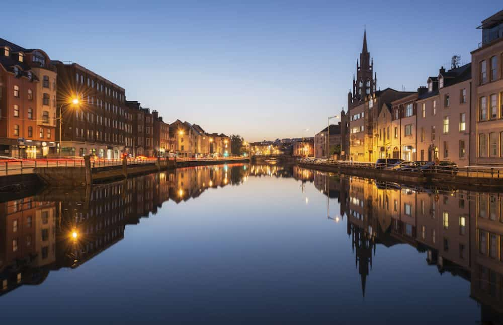 Cork - beautiful cities to visit in Ireland