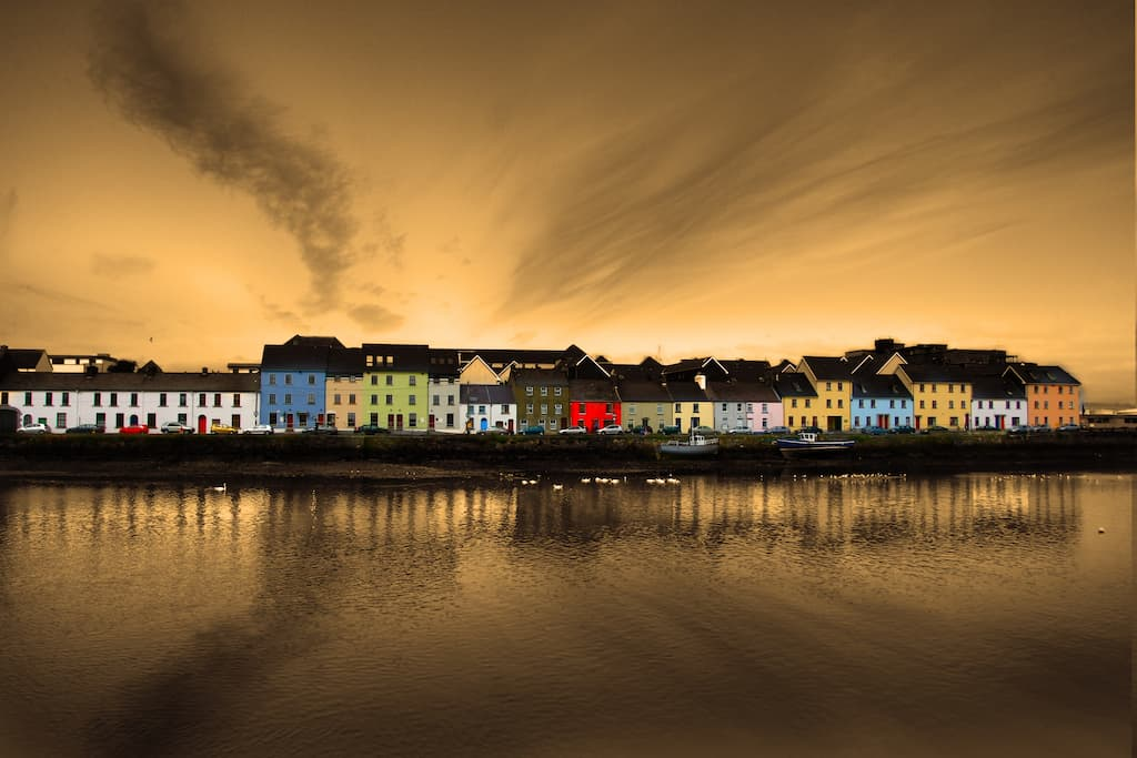 Beautiful Galway Ireland