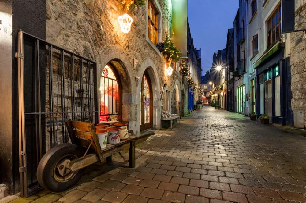 A Galway Street - great places to visit in Ireland